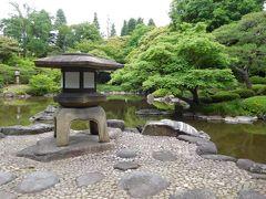 2017年5月 東京4日目 その3 旧古河庭園の日本庭園散歩