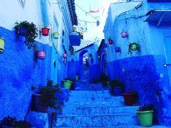シャム旅中東からモロッコへ(17日目)青の町シャムエン編