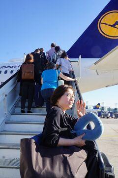 スターアライアンス特典航空券で羽田からミュンヘン経由バルセロナin、マドリッドoutでフランクフルトとデュッセルドルフで乗り継ぎ成田空港へ。