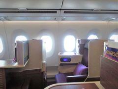2018 GW   シンガポール・クアラルンプールの旅 ① = 出発編・A350-900 BKK-SIN Cクラス =