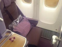 タイ・スリパンワ⑦~タイ航空ビジネスクラスで日本へ~
