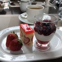 2018,5月 コンラッドホテル東京にお食事に行ってみました。