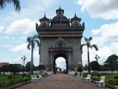 東南アジア一周 Day27:ビエンチャン~凱旋門やディープな市場をぶらぶら~