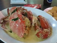 シンガポールでバカンスを。蟹!蟹!!……蟹ってそこまで好きだった?