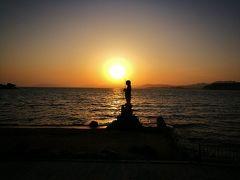 はじめての島根旅行③~松江城と宍道湖の夕日