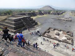 太陽のピラミッドのてっぺんでBuena Vibraを感じたい! 夕方は大粒のヒョウが降ってきたメキシコシティ