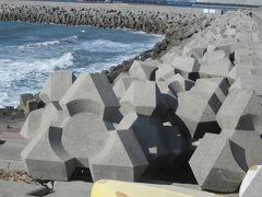 日本の海岸線を守るテトラポット