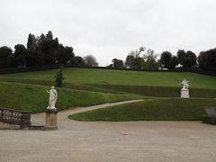 フィレンツェ ボーボリ庭園・バルディーニ庭園・陶磁器博物館