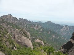 4歳娘を連れてGW上海+黄山4日間の旅2-天気良すぎる黄山風景区
