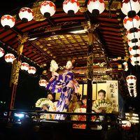 大垣祭りから、美濃赤坂と岐阜市内の散策(一日目)〜総勢13輌の山車はからくり人形あり舞踊ありの多彩な内容。奥の細道結びの地、水門川の景観に水まんじゅうを楽しんで、一転、夜宮の華やかさと露店の多さももう一つの見どころです〜