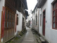 4歳娘を連れてGW上海+黄山4日間の旅5-古くて細い路地が素敵な徽州古城