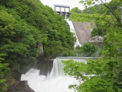 60th ANNIVERSARY 藤原ダム で 放水イベント