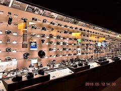 【東京散策83-1】 品川駅周辺の品川シーズンテラス~カメラ二大メーカーのNikonミュージアム&Canonギャラリー