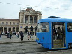 バルカン半島鉄道の旅、その4(華やかな街ザグレブ、クロアチアを鉄道で横断)