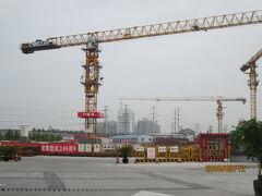 上海の金橋拉拉宝都(ララポート)・工事中・・・2021年4月28日(水)オープン