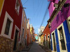 好きにならずに帰れない町グアナファト。簡単に行けちゃうバレンシアーナの坑道跡見学。