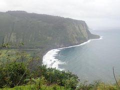 ハワイ島(6)プカプカキッチン、日系人の町ヒロ、アカカの滝、ワイピオ渓谷LOOKOUT、虹の滝