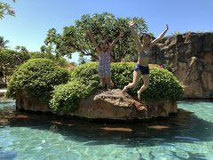 GW家族4人でバリ島ヌサドゥア♪