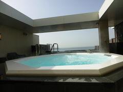 みなと温泉 蓮 の朝食と 宿泊者専用展望露天風呂