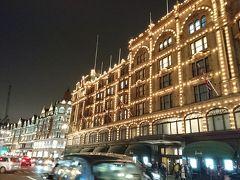 息子と冬のロンドン