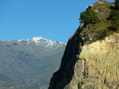 2017.12アンダルシアドライブ旅行33-Sierra Nevada山脈のふもと,Lanjalon,Orgiva をドライブ