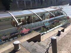 5月のパリ セーヌ川クルーズのBATOBUSを足代わりにしてパリ観光