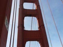 サンフランシスコと周辺旅 2 Golden Gate Bridge を歩いて渡る