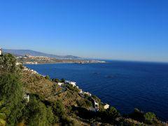 2017.12アンダルシアドライブ旅行32-海にかぶりつきの窓があるParaiso del Mediterraneoに2泊