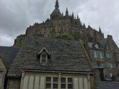 初欧州:パリ(と近郊)ひとり旅 [3]大荒れ?モン・サン=ミッシェル