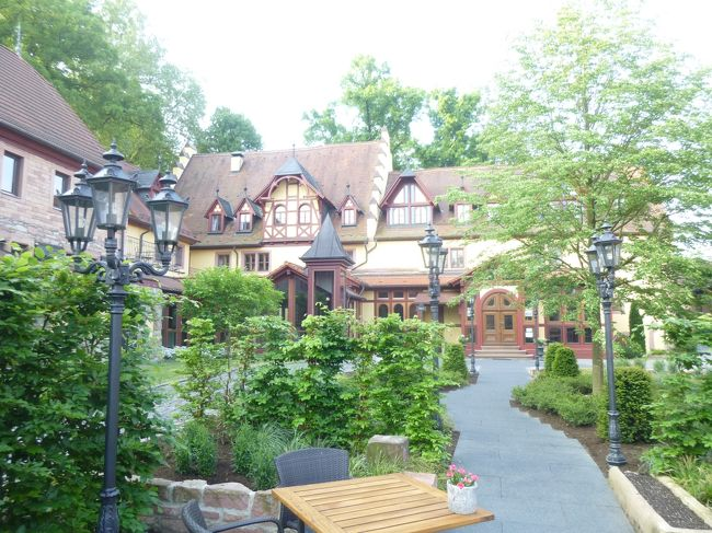 2018年ドイツの春:①シュペッサート地方・選帝侯の古城ホテル ヴァイバーヘーフェに泊まる