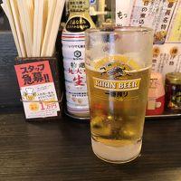東京ではしご酒(ANAのグルメCAおすすめのお店へ)