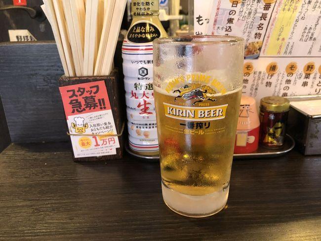 東京での宿泊に選んだ場所は、渋く蒲田。<br />蒲田を選んだ理由は、<br />テレビでANAのグルメCAがすすめていたお店があるから。<br />あと、蒲田自体が結構面白そうだから。