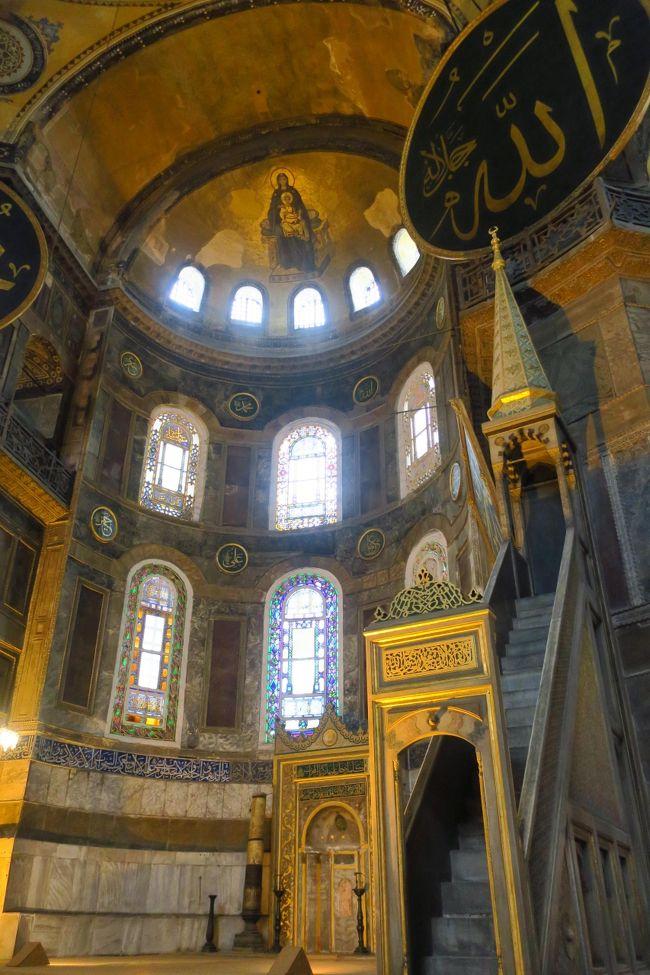 数年前のテロ後、日本人観光客が大幅に減少したと言われるトルコを訪問しました。<br />トラブルにも遭遇しながら楽しい旅となりました♪<br /><br />4/27 自宅発(夜)~関空<br />4/28 ドバイ~イスタンブール~アンカラ<br />4/29 アンカラ~サフランボル~アンカラ<br />4/30 アンカラ~カッパドキア<br />5/1 カッパドキア~夜行バス<br />5/2 パムッカレ&エフェス<br />5/3 クシャダス~イズミル~イスタンブール<br />5/4 イスタンブール~ドバイ ★<br />5/5 ドバイ~関空~自宅<br /><br />因みに、今回プライオリティパスを入手して初めての海外旅行!<br />各国のラウンジ巡りも目的の一つです♪