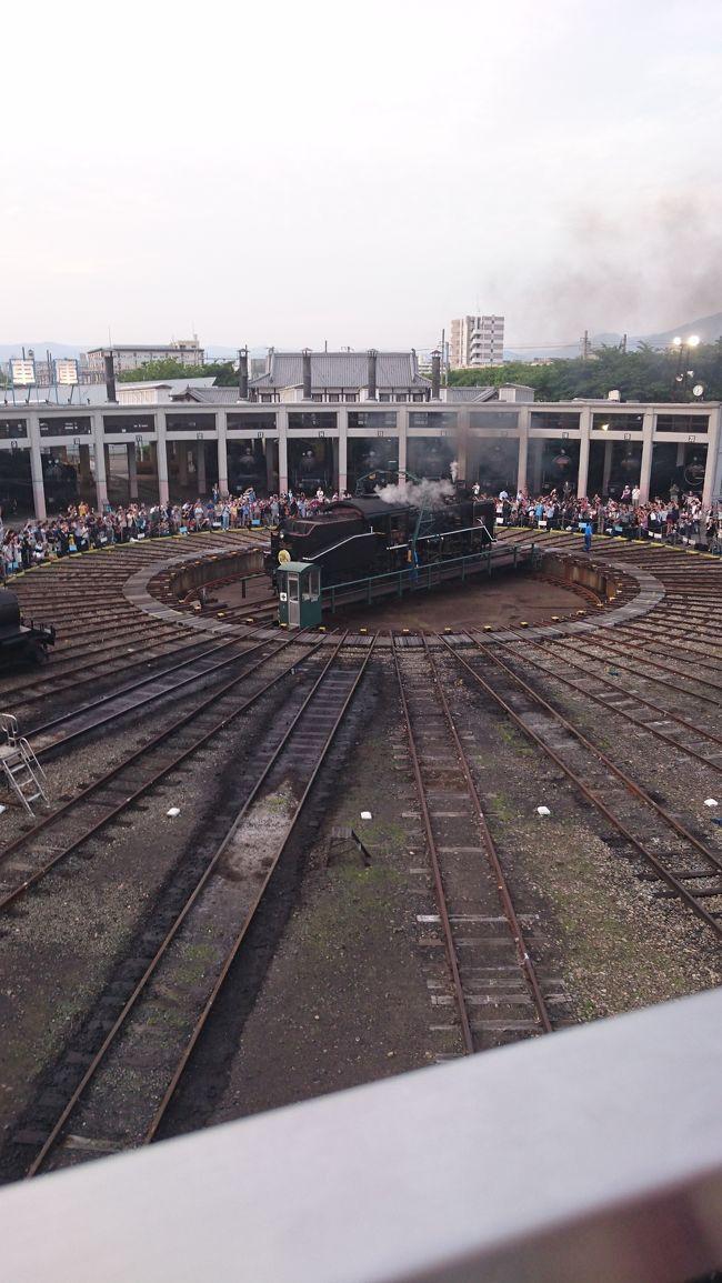 C56160号機が京都鉄道博物館で引退セレモニー