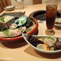 伊豆下田温泉旅(5)下田大和館・炭火ダイニングでゆったりと豪華な夕食