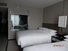 BKKバンコク マリオット マーキス クイーンズ パーク ホテルに滞在