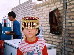 2001年7月、文明の交差点ウズベキスタンへ�=ヒヴァ