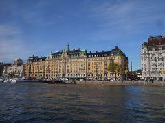 今年のGWは北欧のスウェーデンへ その8 ボートに乗ってストックホルムの街を眺めてみよう
