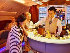 モルディビアンハネムーン Part 10 - エミレーツ航空A380ファーストクラス ドバイ → バンコク