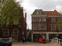 チューリップの咲くオランダ・ベルギーに7泊 �:デルフトの小路