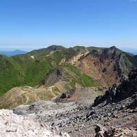那須岳登山(茶臼岳〜朝日岳〜三本槍岳〜北温泉〜那須湯本)