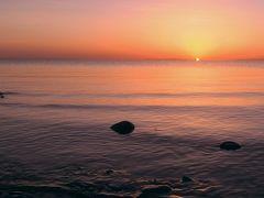 2018年 4月 中国・青海湖 一泊二日の青海湖ツアー2日目 美し過ぎる青海湖の朝日と残念過ぎたチャカ塩湖