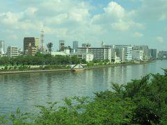 2018初夏、水戸城と江戸城(1/12):6月5日(1):名古屋から新幹線で東京へ、八重洲口南から高速バスで水戸へ、車窓光景