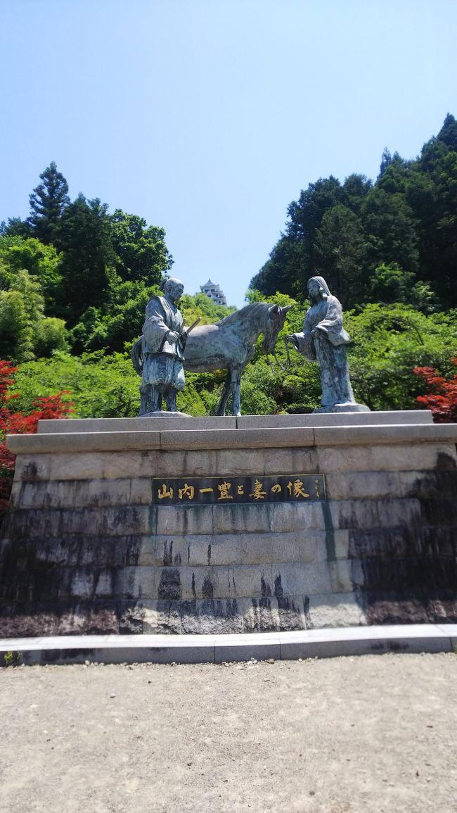 山内一豊の妻、千代さんのお父さん遠藤慶隆が築城者の郡上八幡城。鮎釣り解禁です。長良川鉄道、さくらももこのラッピングでした。