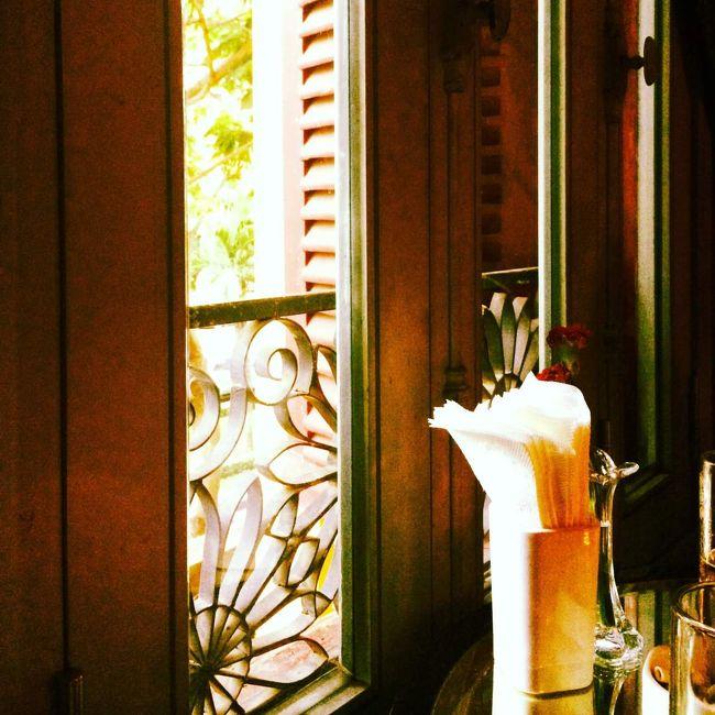 備忘録  2014年5月<br />たまには誰かと旅行してみよう!<br />と思い立って旅サイトで同行者を募集。<br />同じ年の女性から連絡があり、一緒に行くことに。<br />よくよく考えると、東南アジアにいくときだけは常に誰かと旅行してる!<br /><br />今回は<br />1.ちょっと良いホテルに泊まろう!<br />    →★★★★★のカラベル サイゴンに宿泊!<br />         眼下にオペラハウスが見える部屋で<br />         屋上のbarもなかなかよい感じ。<br />2.エステしよう!<br />    →ホテル内のKARA SPAを利用。<br />        フェイシャルをお願いした。 <br />        約6000円だとは思えないクオリティー。<br />        これはお得だった。<br />        気持ちよすぎて途中から寝てしまった。<br />3.せっかくだから歴史の授業で習ったメコン川行こう<br />     →メコン川クルーズを予約して行ったものの<br />         前日飲みすぎて二日酔い。。。<br />         ついて早々に日陰でみんなが帰ってくるまで<br />         寝てたから。。。。。<br />4.ベトナムの歴史を学ぼう<br />     →昔の宮廷料理的なものを食べに行った!<br />         あと、忘れてはいけないのが『ベトナム戦争』<br />         ベトナム戦争証跡博物館へ行ってきた。  <br />         ひめゆり平和祈念資料館やガマなどにも<br />         訪れたことあるけど、やはり戦争の無い<br />         平和な世界であってほしい。<br />5.現地の夜遊び事情を探ってみよう(笑)<br />   →『クラブ』に行ってみた!<br />         クラブと言うよりディスコ。<br />         更にはそっちの商売のお姉さん達がずらっと<br />         並んでいて、キャバとディスコの間なイメージ。<br />         東南アジアのダンスって何か笑えてきてしまう。    <br />と、言う目標(?)を立ててみた。<br />&amp;実行してみた。<br /><br />彼女は出発日が1日早いから、ホテルのフロントで待ち合わせ。<br />しかも、メールのみのやり取りだったから初対面!<br />「行動があれば一緒に行動。基本は別行動。」<br />「夜ご飯は一緒に食べよう。」<br />な、ルールを事前に決めていたから案外気楽。<br /><br />結局最後まで一緒に行動してたけど(笑)<br />ただ、やっぱり一人旅に馴れてると、人とずっと一緒にいるのは疲れるな。<br />次はやっぱり一人にしよう。