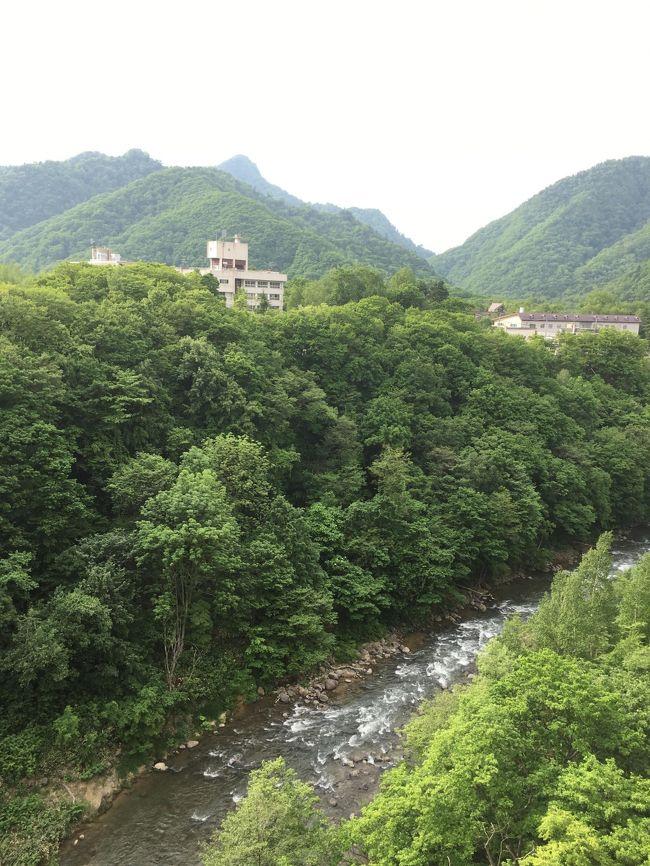 訳あって(どんな訳やねん?)、1泊2日の温泉旅行 Vol.1 梅雨を逃れて北海道へ!