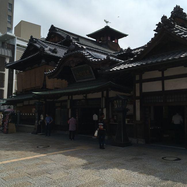 松山日帰り旅行。レンタルサイクルで松山駅から道後温泉まで、そして、あとはぷらぷら