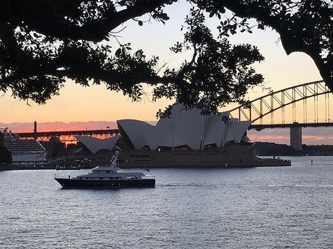 二度目のシドニー<br />今回は10日間かけてオーストラリア東から西へと移動します。<br /><br />英語は自信がないので今回もツアーに参加。<br />前回のシドニーと同じ場所の観光はちょっと残念だなと思っていたら、意外にも同じ場所の観光でも違う角度から見ることができて、まずまず良かったです。<br /><br />オペラハウス周辺は前回同様かなりの人ごみでした。<br />