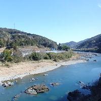 2018.02 四国バースデー切符の旅(10)予土線編前半・日本最後の清流、四万十川に沿って江川崎駅へ。