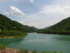 新緑の越後湯沢(2)奥清津発電所・巨大な施設群とダムの絶景
